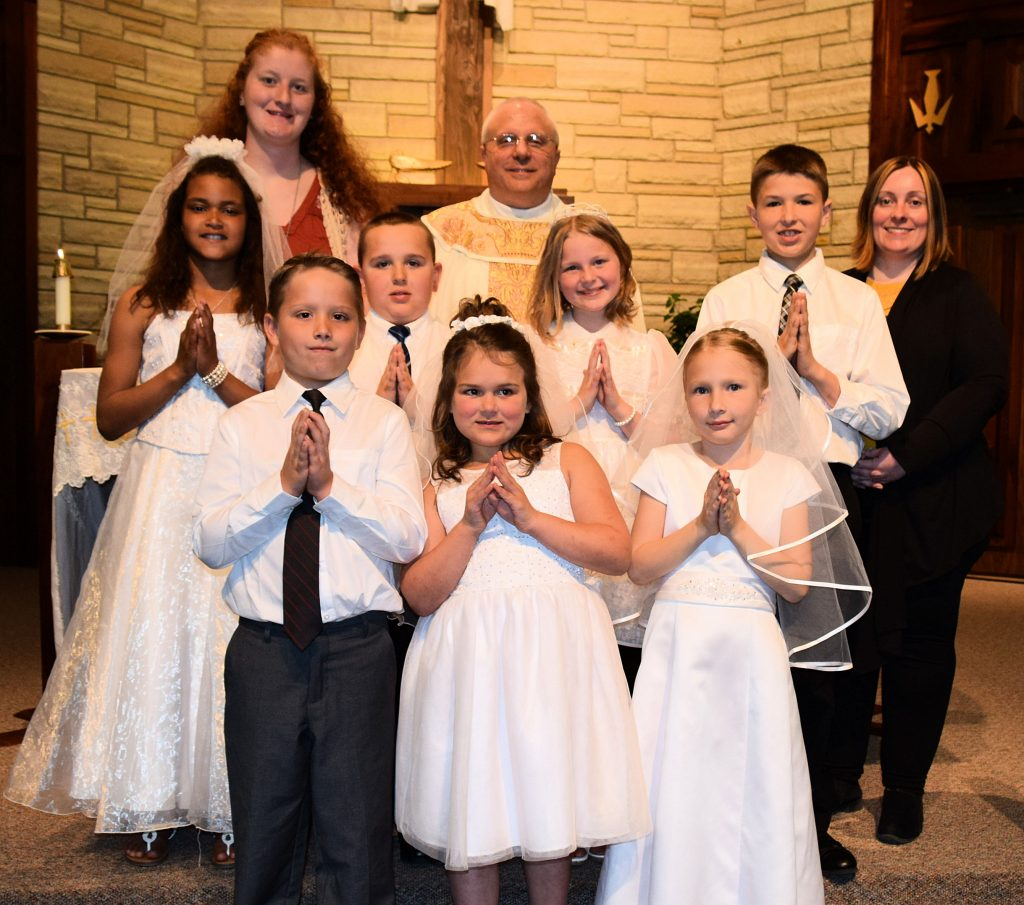 St Luke's First Communion 2019